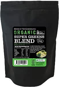 Honest to Goodness Organic SuperGreens Blend, 1 Kilograms