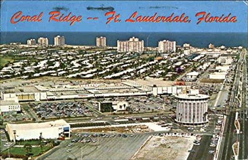 Coral Ridge Fort Lauderdale, Florida Original Vintage Postcard