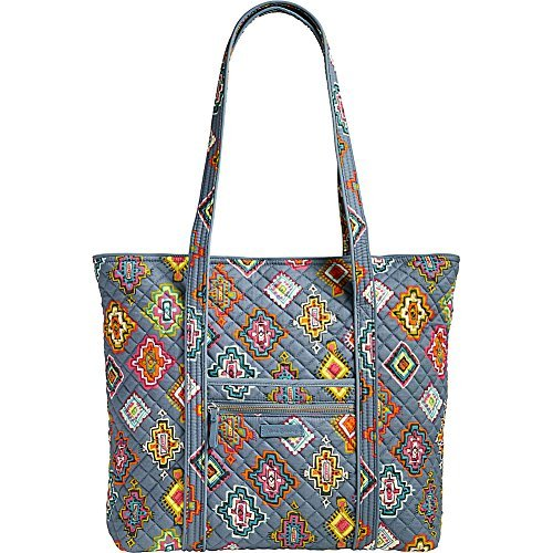(Vera Bradley Women's Iconic Vera Tote Painted Medallions Handbag)