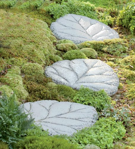 Garden path stepping stones for Stone stepping stones for garden paths
