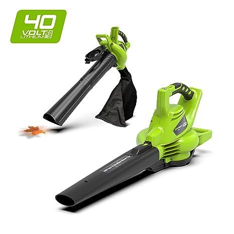 Greenworks Tools 40V Akku Soplador Aspirador inhalambrico + ...