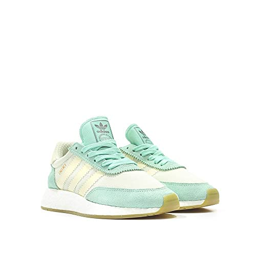 outlet store ab3be 75612 adidas Iniki Runner Womens in Easter Green White, 5