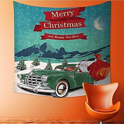 Amazon com: Nalahomeqq Christmas Decorations Custom tapestry