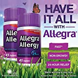 Allegra Adult 24 Hour Allergy Tablets, 180Mg, Familly Size sp. - 270 ct. total Allegra-nB