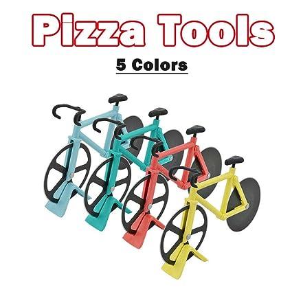 BE-TOOL Cortador de pizza para bicicleta, cortador de pizza de ...