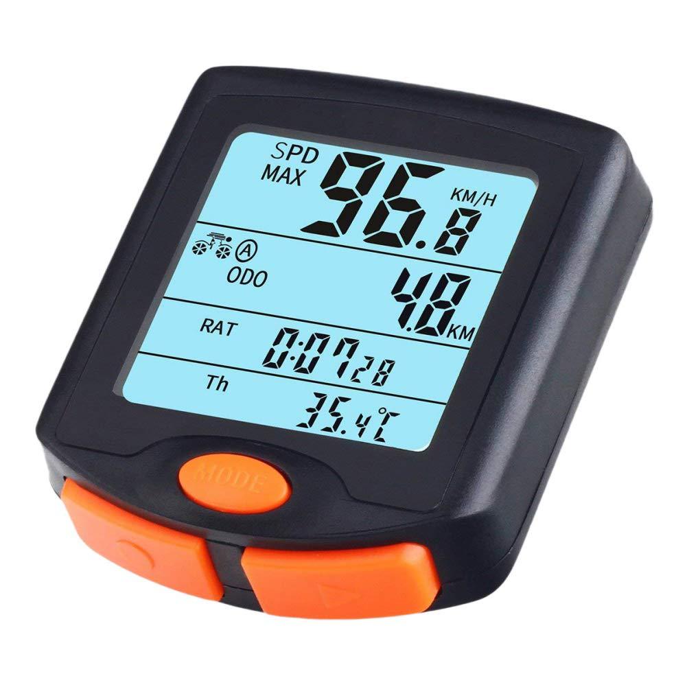 Leezo Bike Computer Bicycle Speedometer Cycling Odometer