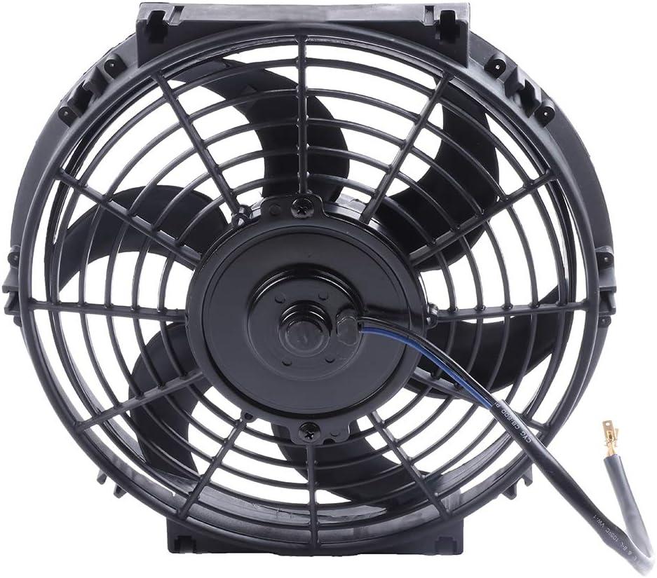 ROADFAR 1pc Radiator+1pc Radiator Cooling Fan Fits 2000 BMW 323Ci 1998-2000 BMW 323i 1998-1999 BMW 323is 1992-1995 BMW 325i
