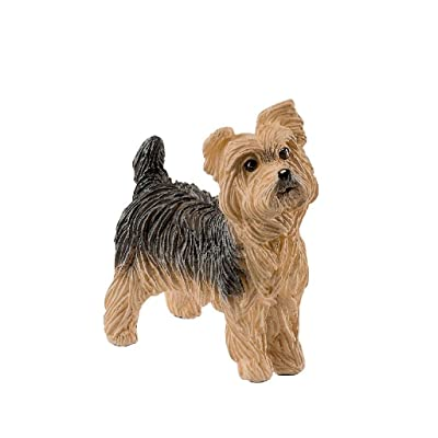 SCHLEICH Farm World Yorkshire Terrier Educational Figurine for Kids Ages 3-8: Schleich: Toys & Games