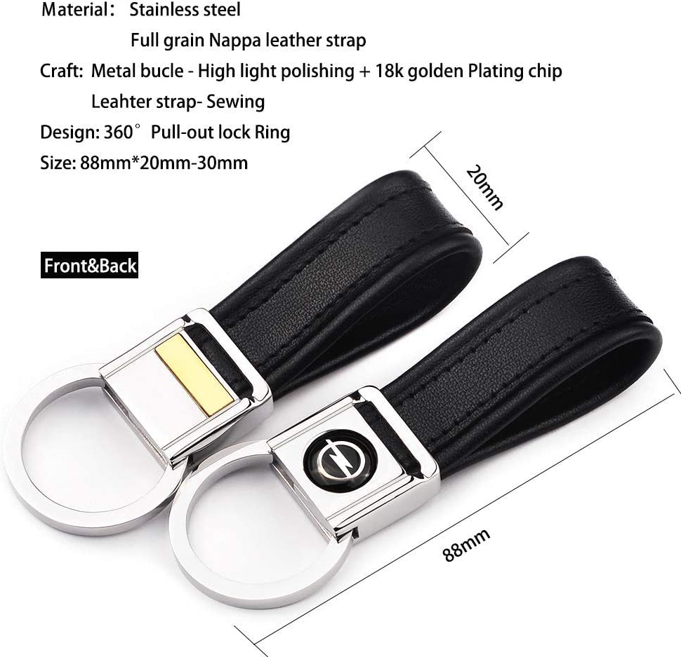 Latest Model Stylish Key ring keychain Metal Faux leather Keyring for Mercedes Benz-car Keyfob in Gift Box. cfm