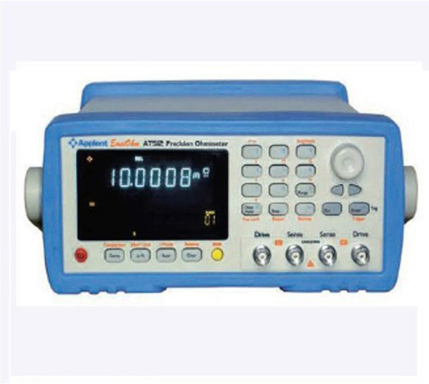 LIMEI-ZEN Precise instrument AT512 High-precision DC Resistance Meter Low Micro Ohm Meter Tester 0.1u-110M Ohm with RS232 Handler Comparator Resistance Tester