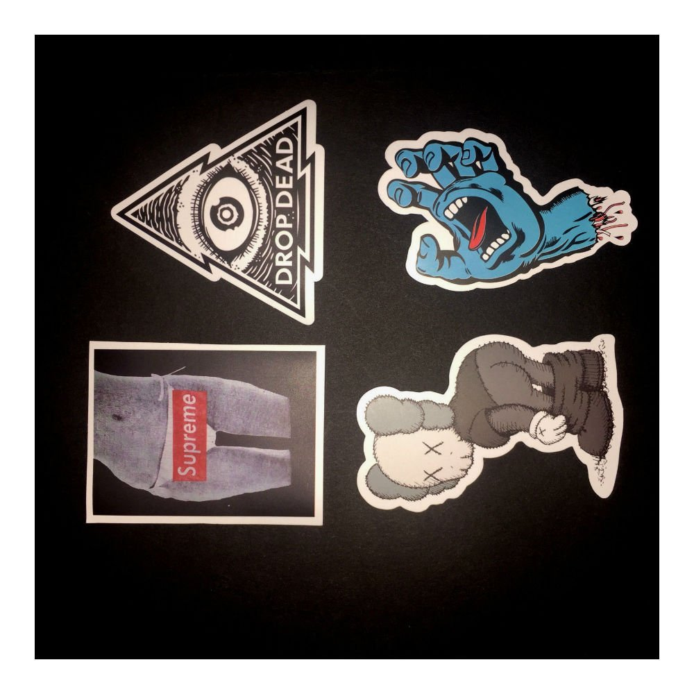200 Skateboard Stickers bomb Vintage Hype Laptop Luggage Decals Dope Sticker Lot by Unknown (Image #4)