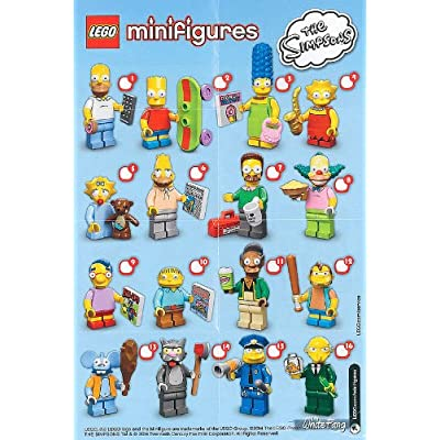 LEGO Minifigure Collection LEGO Simpsons Series LOOSE Maggie Simpson: Toys & Games