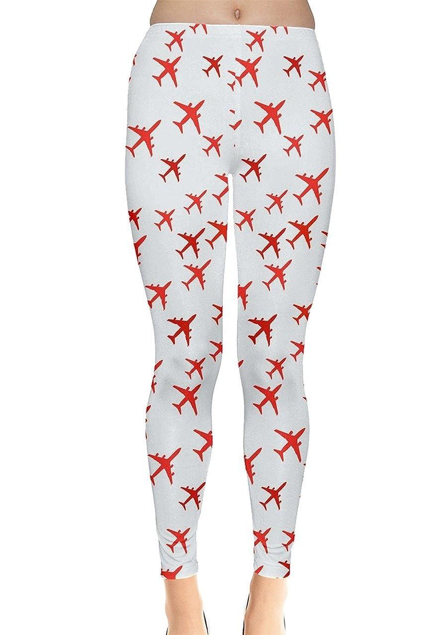 70af4606c0209 Amazon.com: CowCow Womens Airplanes Cars Trains Planes Bus Skyrider Traffic  Leggings, XS-5XL: Clothing