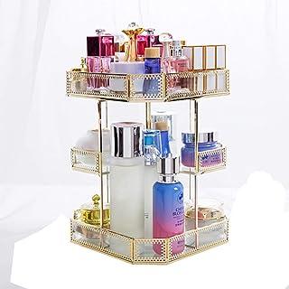 Organisateur De Maquillage Rotatif Grande Capacité Transparent CosméTique Maquillage BoîTe De Rangement Produits De Beauté Produits De Beauté