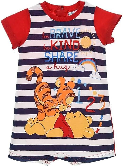 Winnie The Pooh Brave Kind Share Baby Body Suit Pyjamas