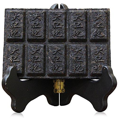 Lida-11 years Aged Top Quality Da Hong Pao 100% Natural Wuyi Rock Tea Brick Oolong Tea-100g ()
