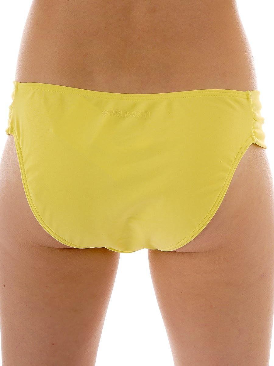 Brunotti Bikinihose Badehose Sisottor gelb klassisch Nylon unifarben