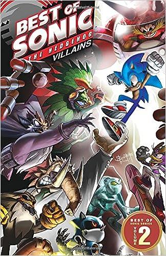 Amazon Com Best Of Sonic The Hedgehog 2 Villains Best Of Sonic The Hedgehog Comics 9781936975556 Sonic Scribes Books