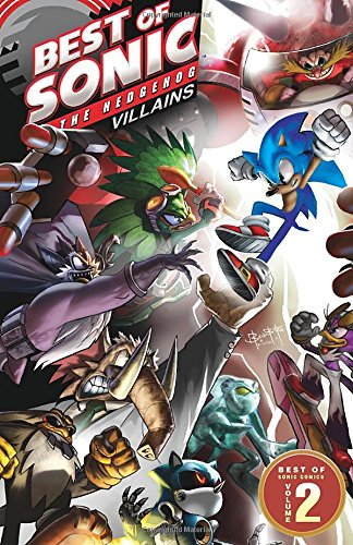 Amazon Com Best Of Sonic The Hedgehog 2 Villains Best Of Sonic The Hedgehog Comics 9781936975556 Sonic Scribes Books