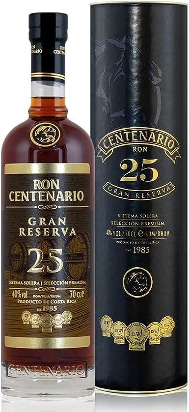 centen Ario Gran Reserva 25 años Rum, 700 ml