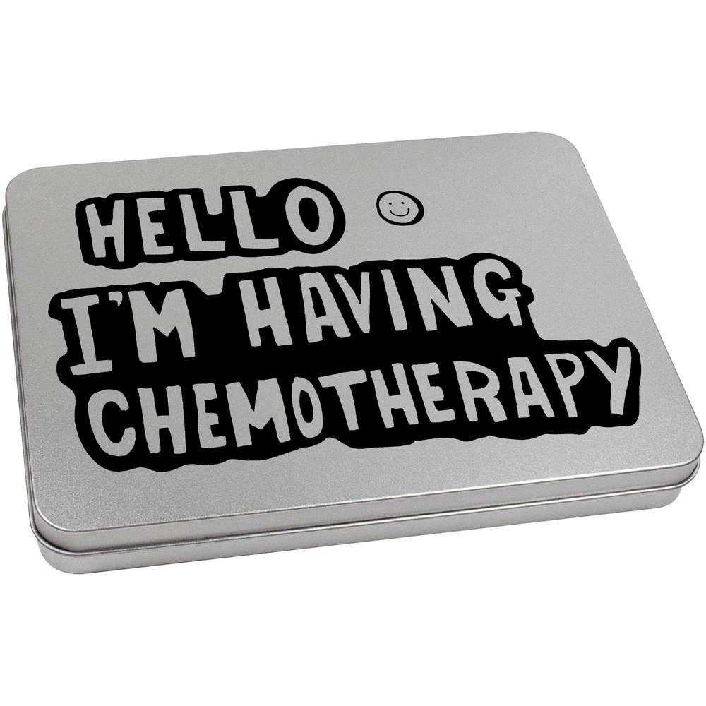 Lata de Metal TT00069480 Azeeda 220mm x 160mm Im Having Chemotherapy Caja de Almacenamiento