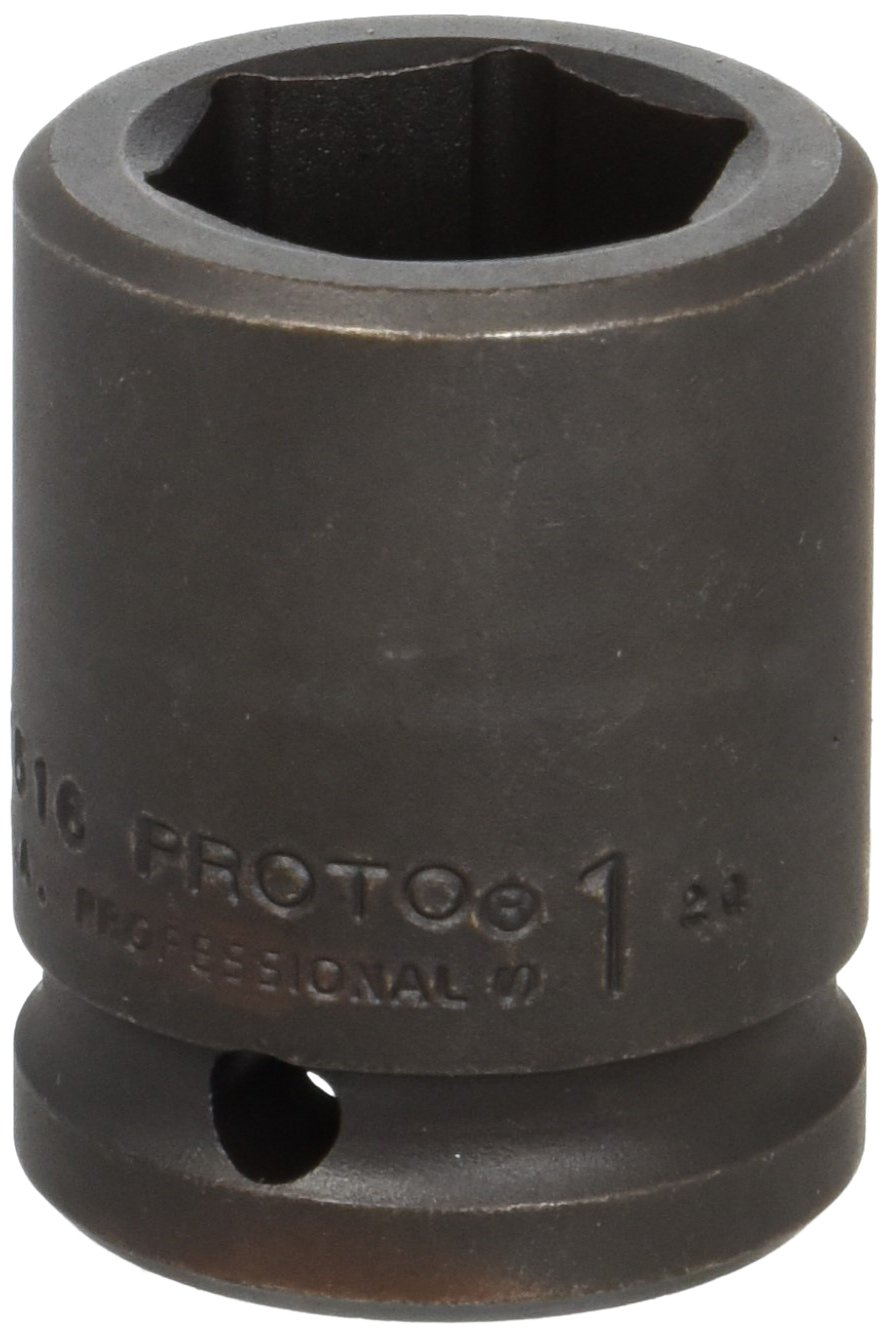 Stanley J07516 Proto 6 Point 3//4-Inch Drive Impact Socket 1-Inch