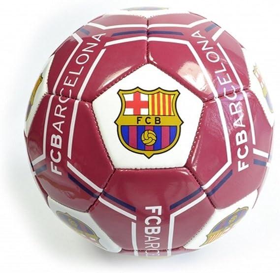 FCB FC Barcelona - Balón de fútbol (Talla 1) (Granate/Blanco ...