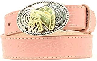 Nocona Girls Floral Belt w/ Buckle