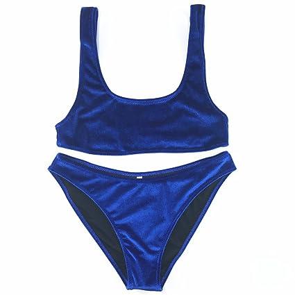 Bañadores Cikini Bañador Bikini Set Bikinis Mujer De Terciopelo Vl02 SULqzMjVpG