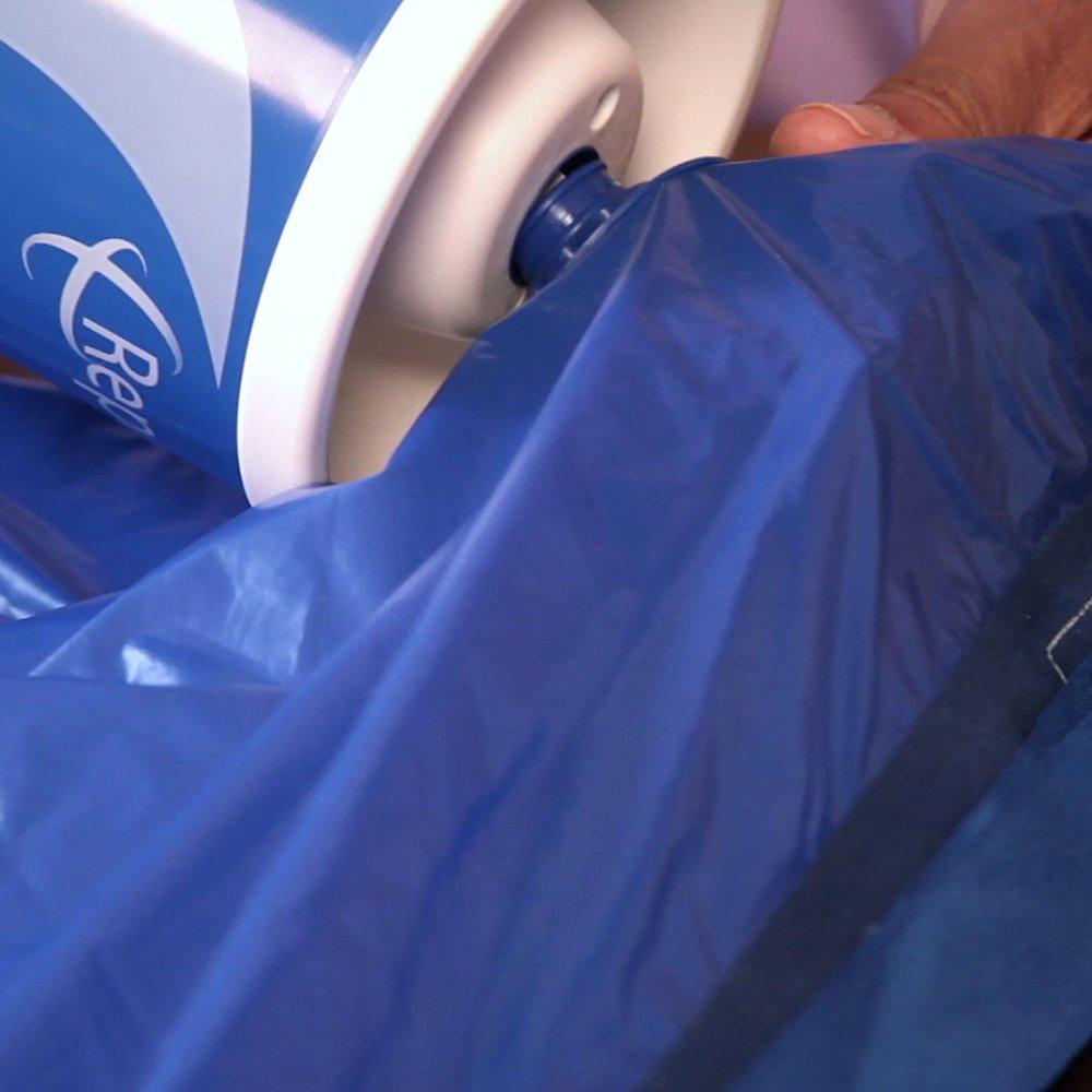 Repose alivio de presión único superposición colchón cojín y bomba