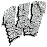 University of Wisconsin Badgers College NCAA Sports Team Collegiate Logo Car Truck SUV Motorcycle Trunk 3D Bling Gem Crystals Chrome Emblem Adhesive Decal offers