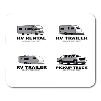 Amazon com : HZMJPAD Adventure Caravan of Monochrome Camper