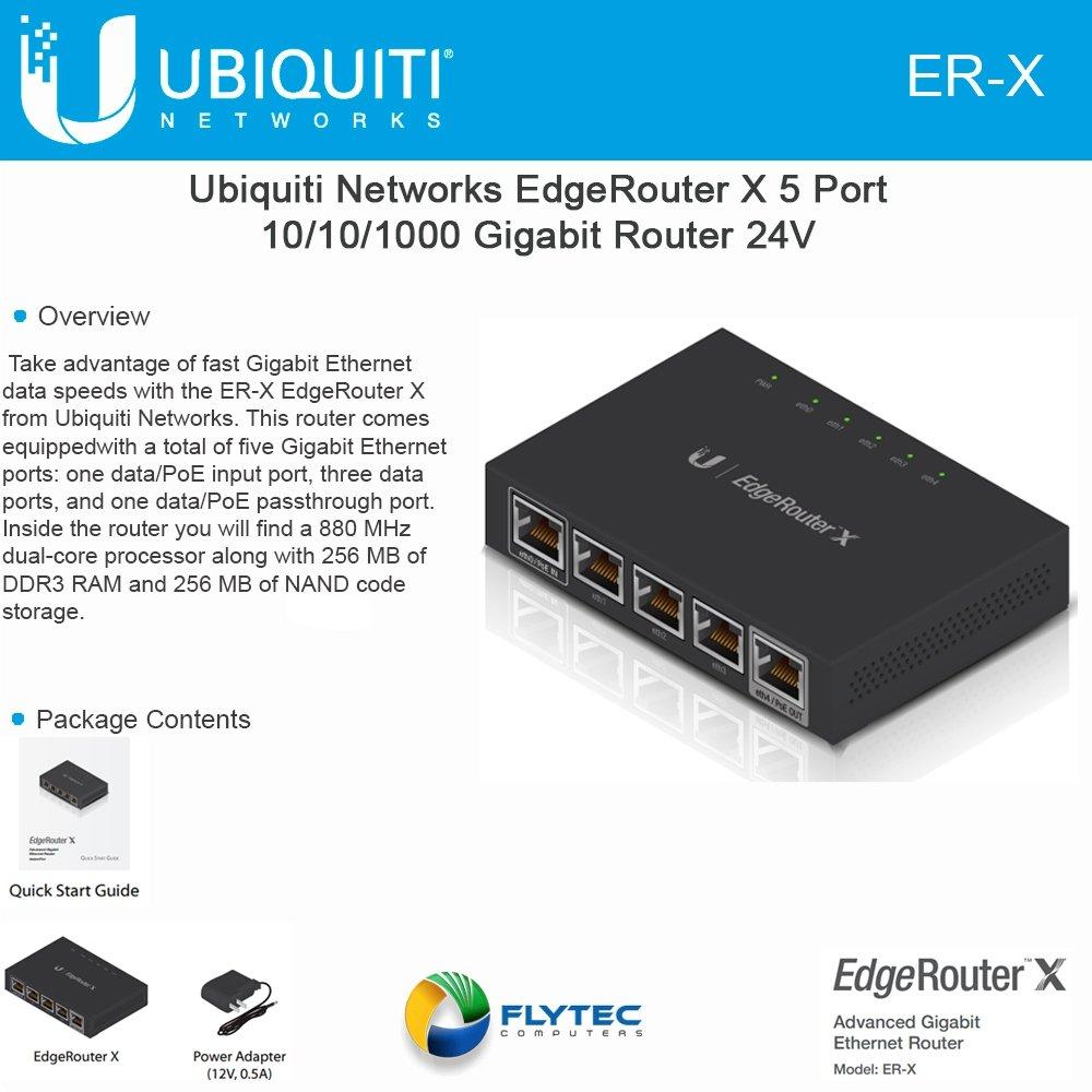 Ubiquiti Networks Router (ER-X)