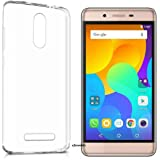 Efonebits(TM) Crystal Clear Hot Transparent Premium Soft Silicone Back Case Cover For Micromax Evok Power Q4260