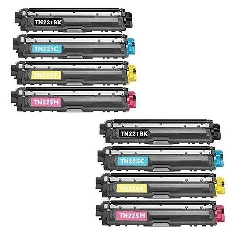 8 ECS Compatible Cartucho de tóner reemplazar TN241 TN245 para ...