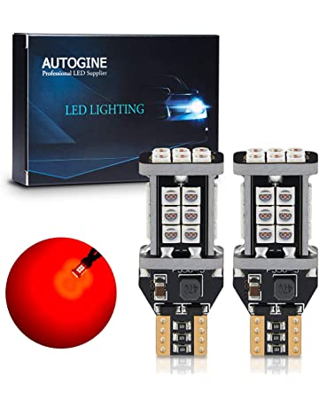 AUTOGINE 1300 Lumens Extremely Bright Canbus 921 912 906 904 902 W16W T15 LED Bulbs Brilliant