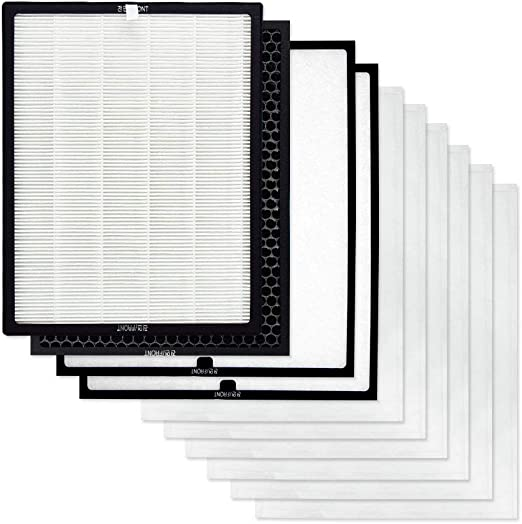 2-pack Replacement Hepa Compatible Filter for COWAY Air Purifier AP-1008BH//CH//DH