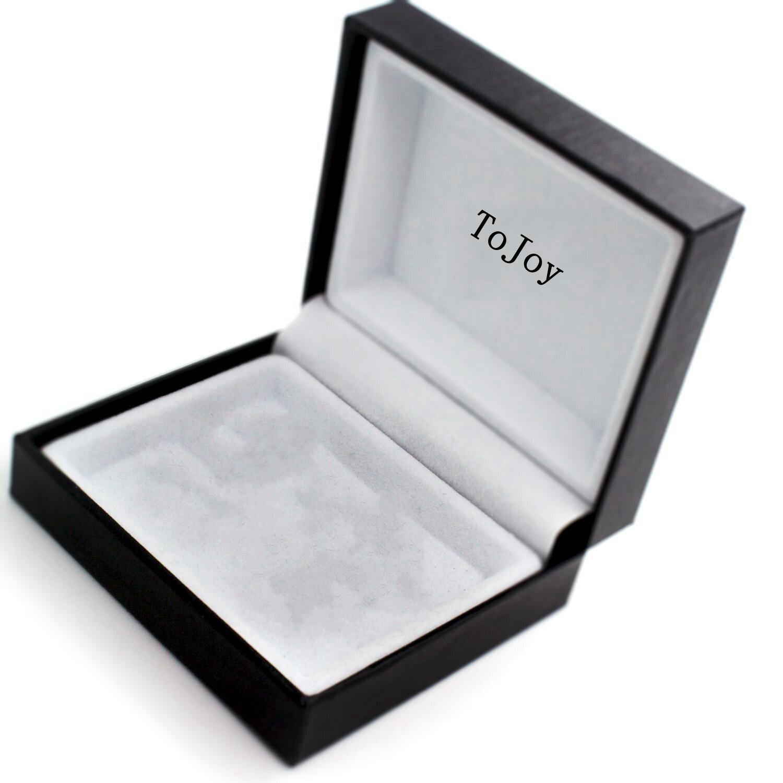 ToJoy cristal Gemelos/Mancuernas octogonales/mancuernas de la camisa: Amazon.es: Joyería