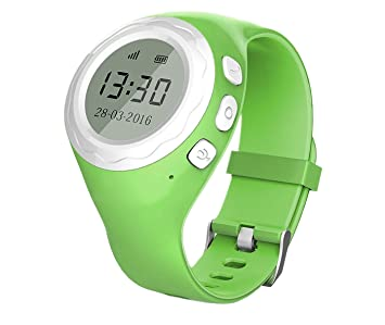 Reloj inteligente Pingonaut Kidwatch, para niños, con GPS, con teléfono integrado, SOS