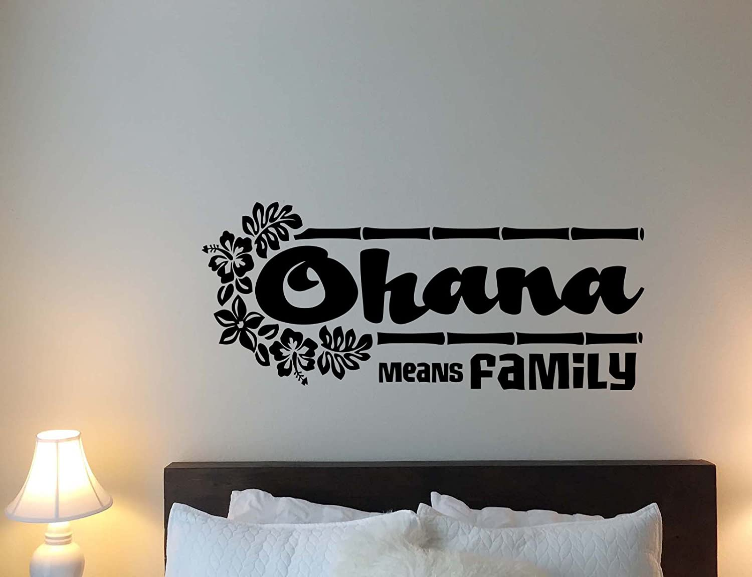 Amazon Ohana Means Family Wall Decal Lilo And Stitch Walt