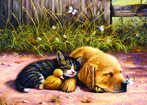 Sleepy Companions 15 Piece Jigsaw Puzzle by SunsOut