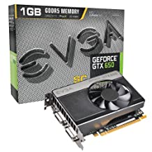 EVGA2 GeForce GTX 650 SUPERCLOCKED 1024MB GDDR5 DVI Mini-HDMI Graphics Card 01G-P4-2652-KR