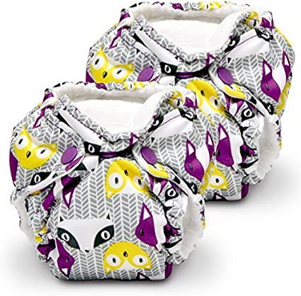 Invader Lil Joey 2 Pack All in One Cloth Diaper