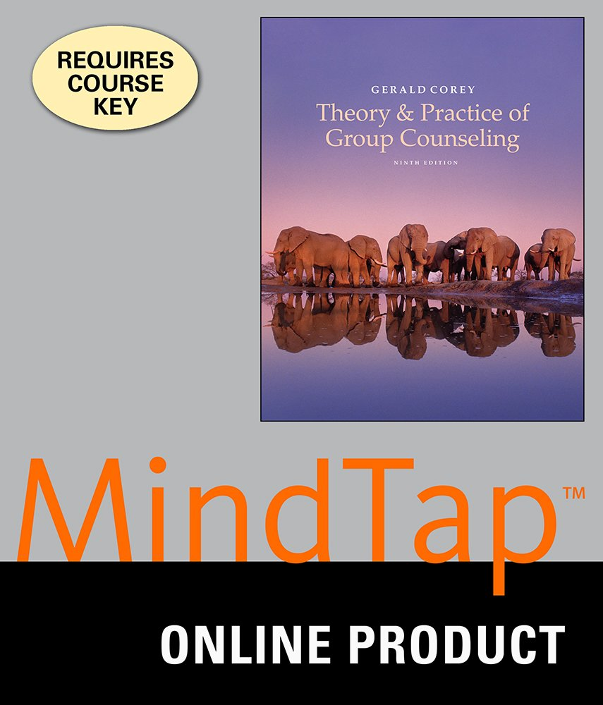 Amazon.com: MindTap Counseling for Corey's Theory and Practice of Group  Counseling, 9th Edition: Courses