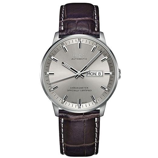 MIDO Commander II - Reloj de Pulsera analógico automático Piel m021.431.16.071.00: Amazon.es: Relojes
