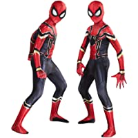 AM ANNA The Spider-Verse Kids Bodysuit Spiderman Superhero Costumes Halloween Cosplay Costumes