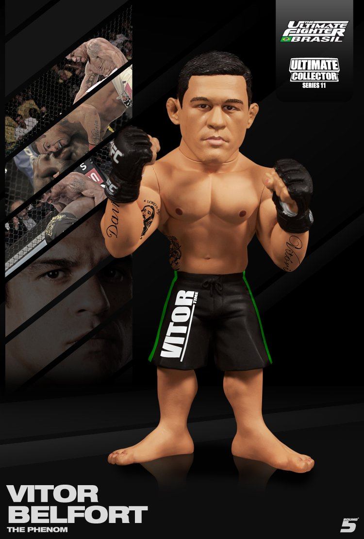 forma única Vitor Belfort (TUF Brazil Edition) Round 5 UFC Ultimate Collector Collector Collector Series 11 by Round 5 MMA  mejor servicio