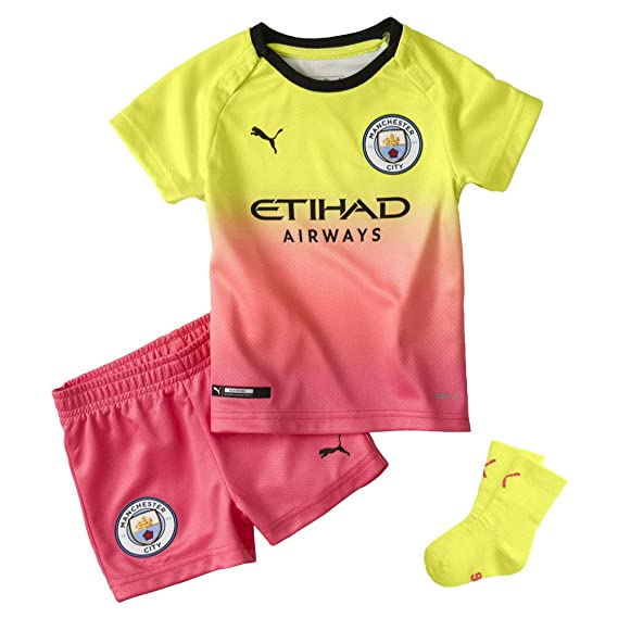 info for e4271 34a9a Puma Manchester City 2019/20 Infant Kids Baby Third Football ...