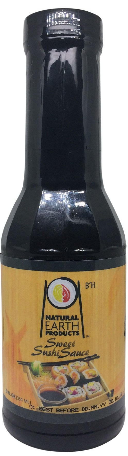 Natural Earth Sweet Sushi Sauce - Certified Kosher, No Msg - 12 Fl oz