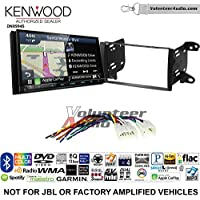 Volunteer Audio Kenwood Excelon DNX994S Double Din Radio Install Kit with GPS Navigation Apple CarPlay Android Auto Fits 2011-2013 Non Amplified Toyota Matrix